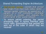 shared forwarding engine architecture1