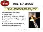 marine corps culture
