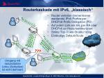 routerkaskade mit ipv6 klassisch