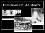 freedom summer 1964 murders