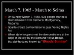 march 7 1965 march to selma