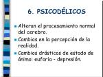 6 psicod licos