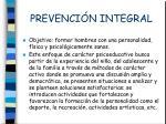 prevenci n integral