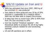 9 6 10 update on iran and u