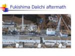 fukishima daiichi aftermath
