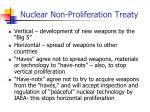 nuclear non proliferation treaty