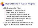 physical effects of nuclear weapons2