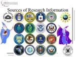 sources of research information