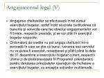 angajamentul legal v