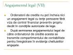 angajamentul legal vii