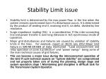 stability limit issue