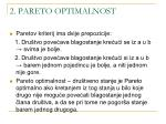 2 pareto optimalnost