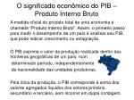 o significado econ mico do pib produto interno bruto