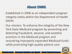 about omig