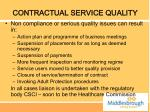 contractual service quality1