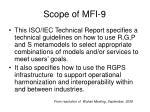 scope of mfi 9