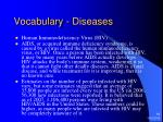 vocabulary diseases2