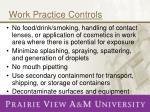 work practice controls1