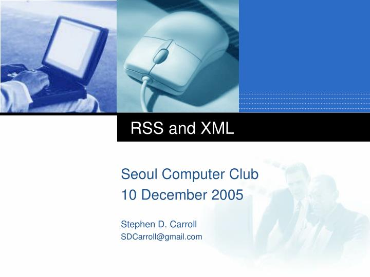 rss and xml n.