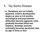 1 tay sachs disease1