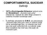 comportamentul suicidar defini ii1