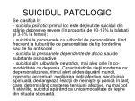 suicidul patologic