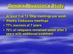 georgia physician s study