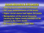 social structure da levels