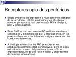 receptores opioides perif ricos1