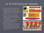 la ii internacional debates