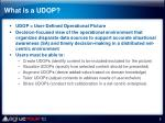 what is a udop