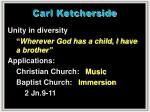 carl ketcherside