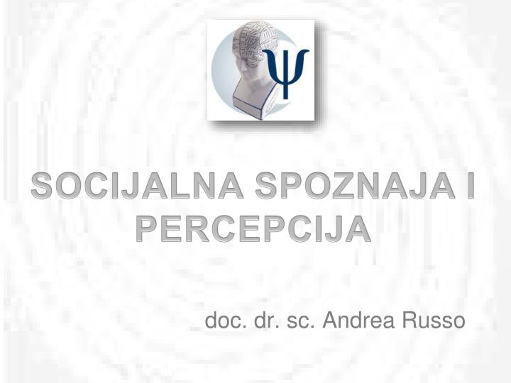 doc dr sc andrea russo n.