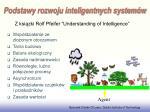 podstawy rozwoju inteligentnych system w