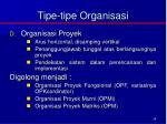 tipe tipe organisasi3
