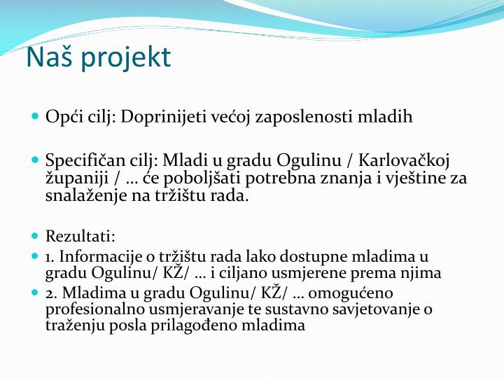 Naš projekt