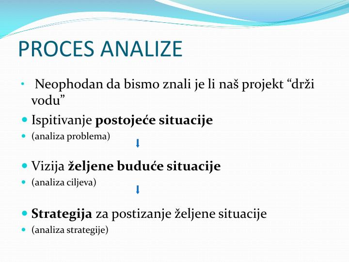 PROCES ANALIZE