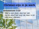 christen zijn in je werk1