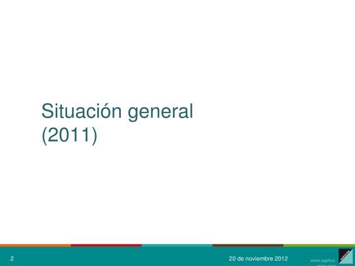 Situaci n general 2011
