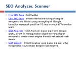 seo analyzer scanner