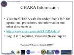 chara information