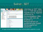 sulinet sdt1