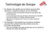 technologie de groupe1