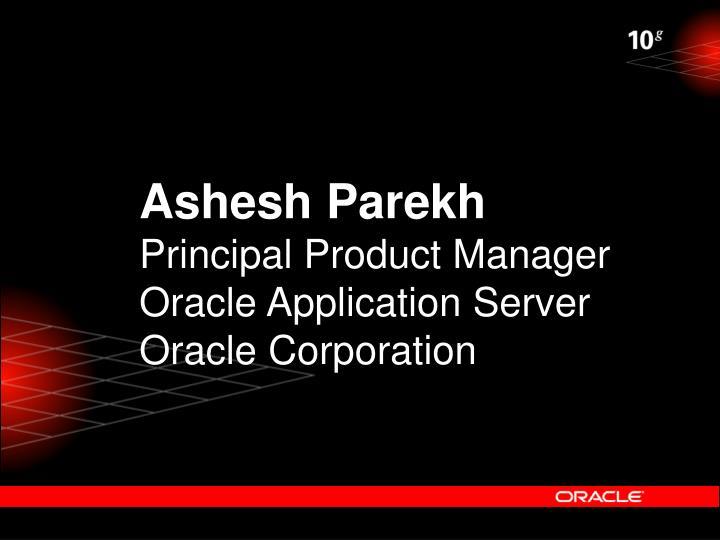 Ashesh Parekh