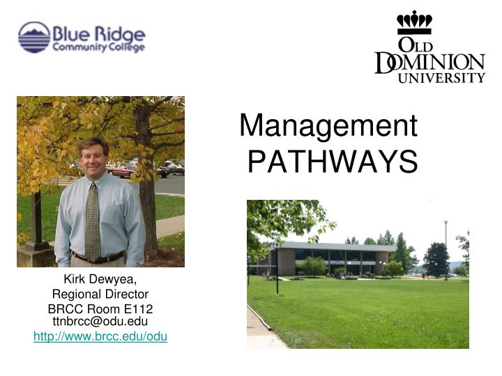 management pathways n.