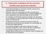 2 1 valoraci n ciudadana de los servicios sociales para personas mayores