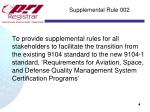supplemental rule 002