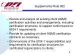 supplemental rule 0021