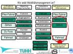 wo setzt mobilit tsmanagement an