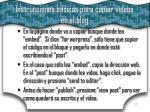 instrucciones b sicas para copiar videos en el blog